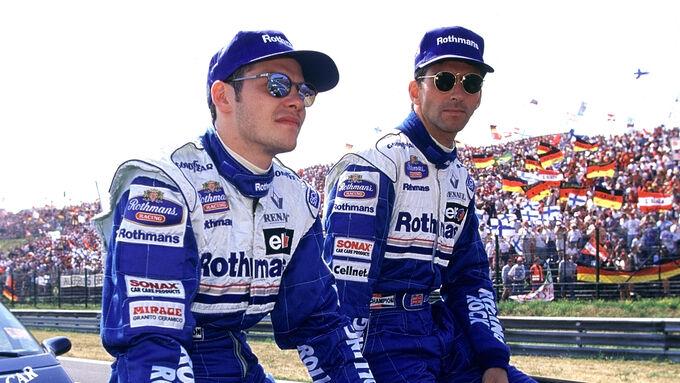 Damon hill vs jacques villeneuve 1996 pictures for Domon jacques