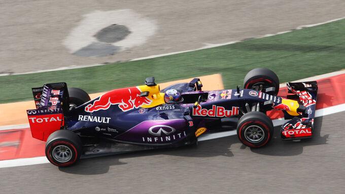 Ricciardo rein, Kvyat raus