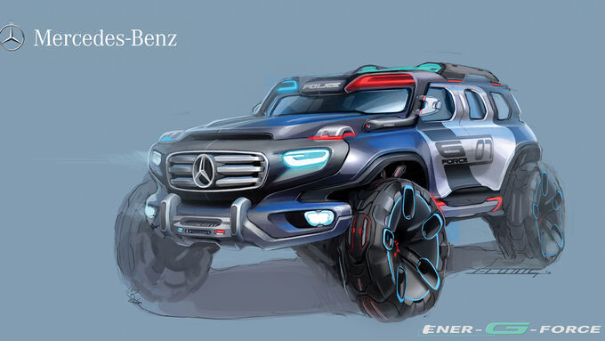 Design Challenge 2012 Mercedes Ener-G-Force