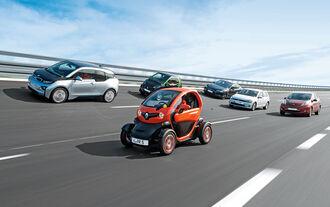 Elektroautos, Verschiedene Modelle