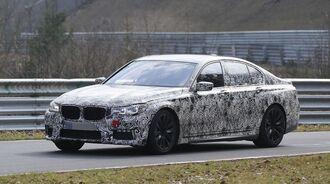 Erlkönig BMW 7er M-Paket