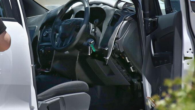Erlkönig Ford Ranger Facelift