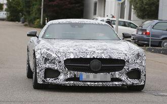 Erlkönig Mercedes AMG GT Spoiler