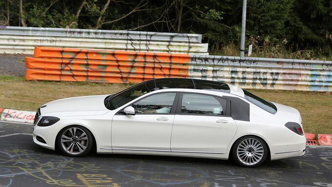 Erlkönig Mercedes S-Klasse XL