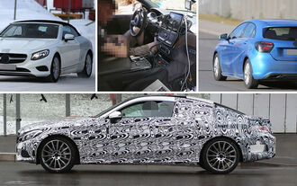 Erlkönige Mercedes