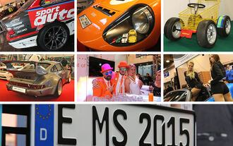 Essen Motor Show 2015, Samstag, Rundgang, Skurriles, Teaser