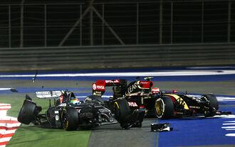 Strafen-Katalog der F1-Saison 2014
