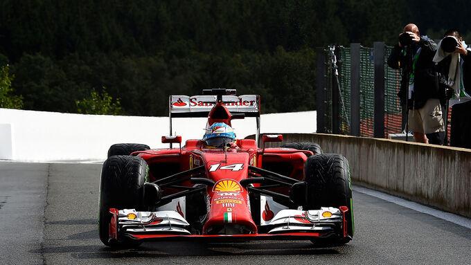 Ferrari überrascht sich selbst