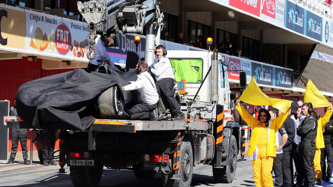 Neue Infos zum Alonso-Unfall