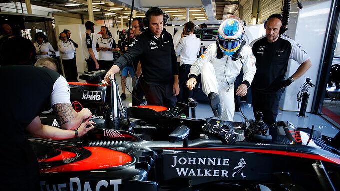 McLaren glaubt weiter an Fortschritt