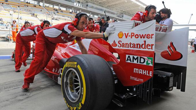 Ferrari Heckflügel 2012