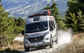 Fiat Ducato 4x4 Expedition Konzept