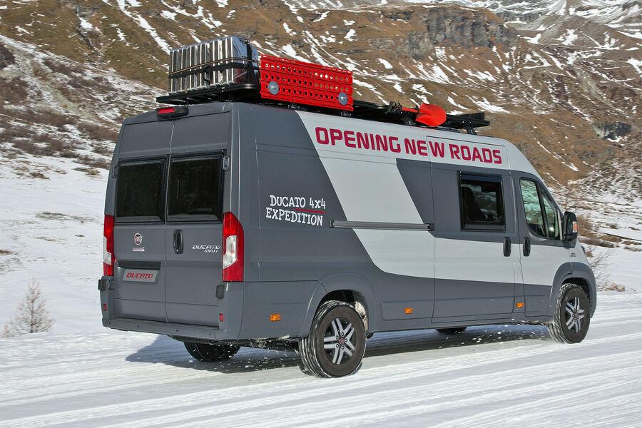 fiat ducato 4x4 expedition konzept das extremisten wohnmobil auto motor und sport. Black Bedroom Furniture Sets. Home Design Ideas