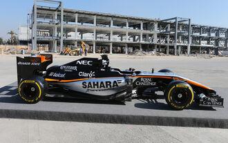 Force India mit Verspätung