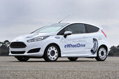 Ford Fiesta Schaeffler E-Wheel Drive