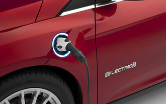 Ford Focus Electric Facelift 2014