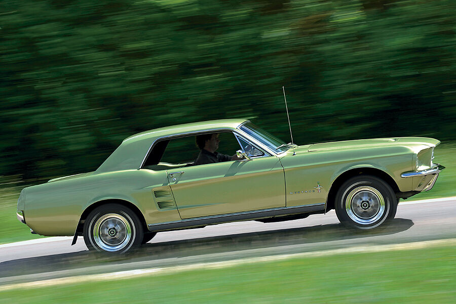 kaufberatung ford mustang 1964 1968 ideales muscle car. Black Bedroom Furniture Sets. Home Design Ideas