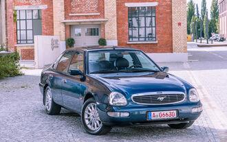 Ford Scorpio Mk2 2.9I, Frontansicht