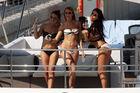 F1-Mädels zu Lande und auf dem Wasser
