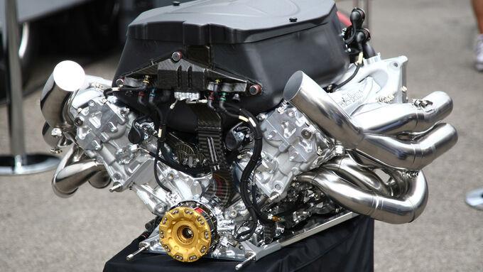 Formel 1 Mercedes-Benz V8 Motor 2011