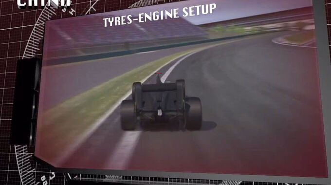 Formel 1, Pirelli Vorschau China 2014 Screenshot