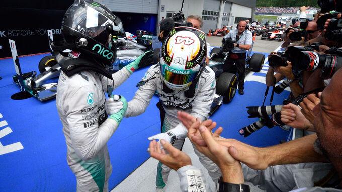 Formel 1-Jahr 2014 in Bildern