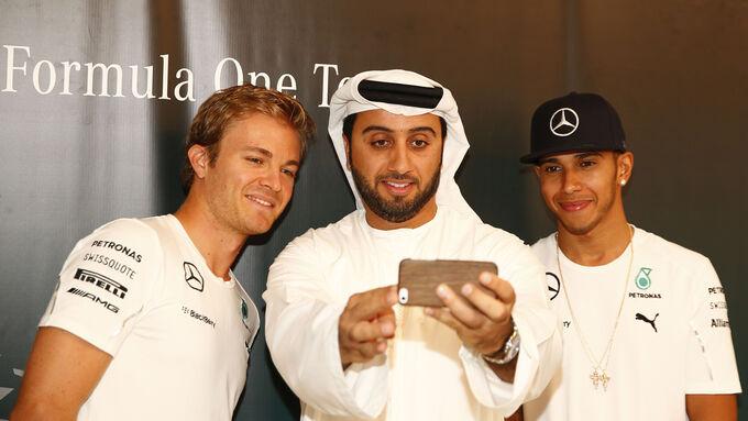 F1 Tagebuch Abu Dhabi 2014