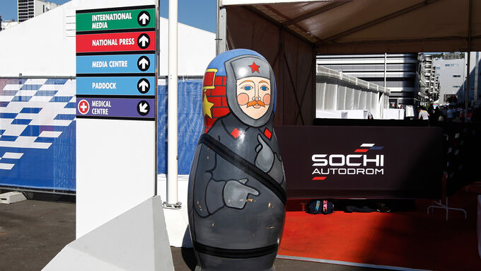 F1 Tagebuch Russland 2014