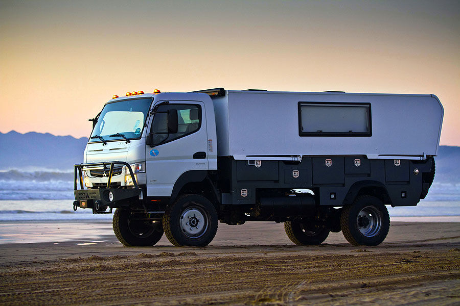 Canter 4x4 Camper For Sale | Autos Post