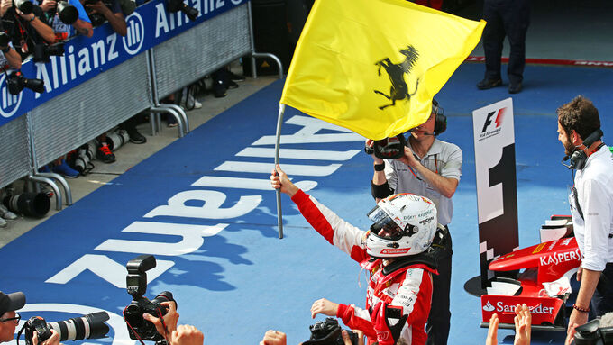 GP Malaysia - Sebastian Vettel - Ferrari - Rennen - Sonntag - 29.3.2015
