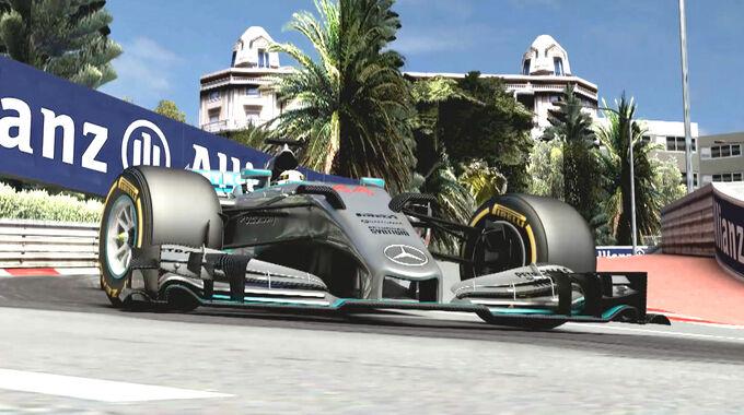 GP Monaco - Streckenvorschau - Mercedes - Screenshot