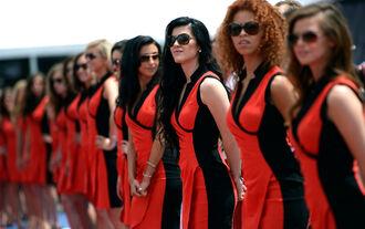 Grid Girls - GP Kanada 2014