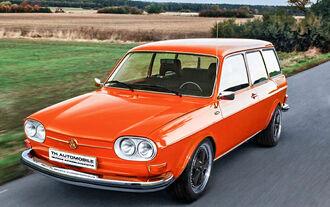 HR VW 411 Nasenbär Techno Classica