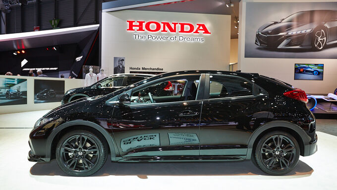 Honda Civic Black Edition, Genfer Autosalon, Messe, 2014