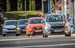 Honda Jazz 1.3, Kia Venga 1.6 CVVT, Skoda Fabia Combi 1.2 TSI, VW Polo 1.0 TSI
