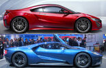 Honda NSX Ford GT Comparison