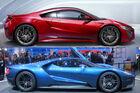 Ford GT gegen Honda NSX