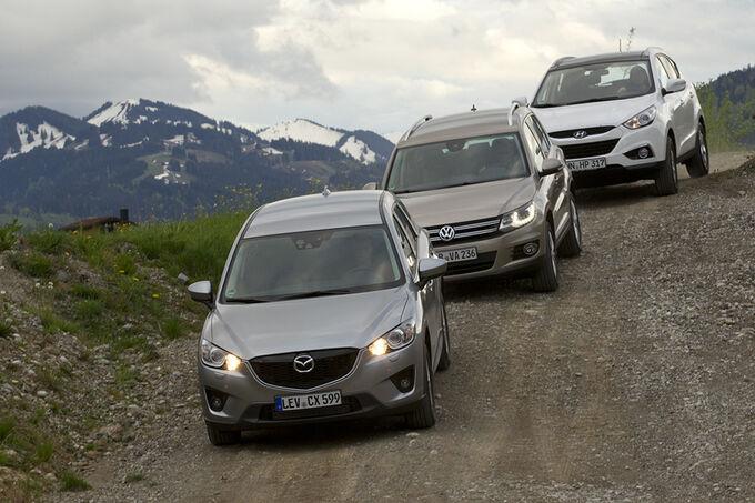 Compare Hyundai Ix35 With Kia Sportage And Mazda | Autos
