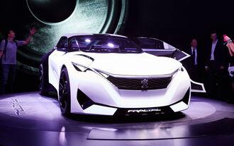 IAA 2015, Peugeot Fractal Concept