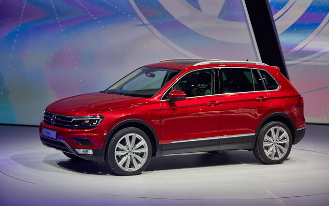 neuer vw tiguan auf der iaa auto motor und sport. Black Bedroom Furniture Sets. Home Design Ideas