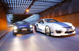 Importracing-Nissan GT-R, Techart-Porsche 911 Turbo S, Frontansicht
