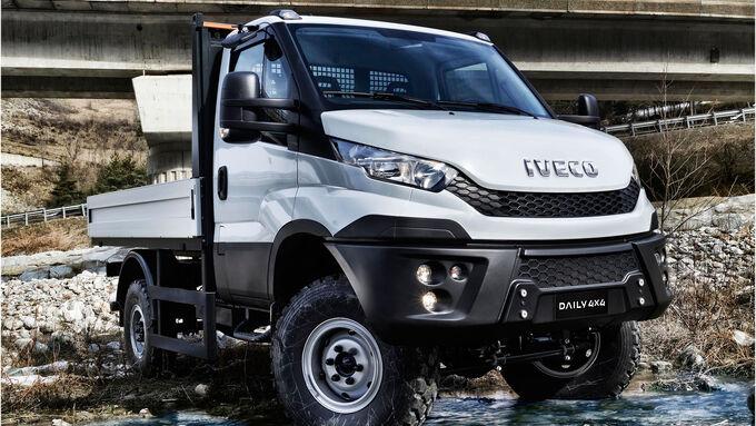 Iveco Daily 4x4 Modelljahr 2015