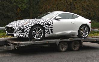 Jaguar F-Type AWD Erlkönig