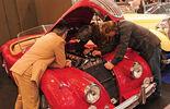 Jaguar XK 140 OTS  auf der Techno-Classica 2010