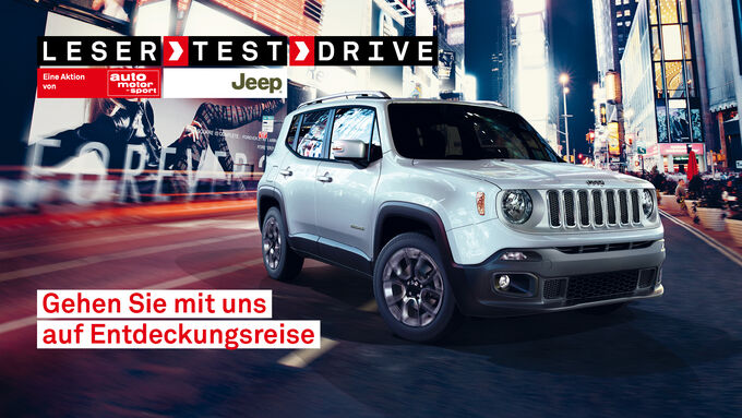Jeep Renegade, Leser-Test-Drive
