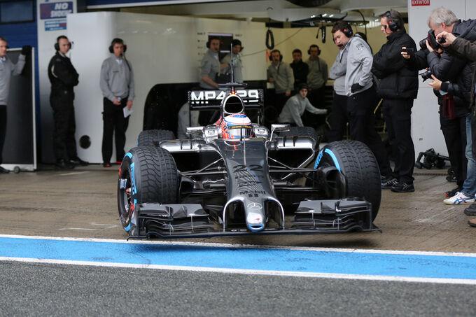 Jenson Button - McLaren - Fórmula 1 - Teste - Jerez - 29  Janeiro 2014