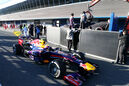 Jenson Button, McLaren, Mark Webber, Red Bull, Formel 1-Test, Jerez, 5.2.2013