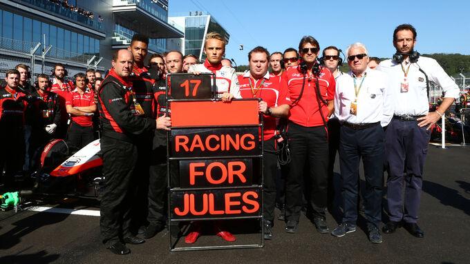 Update zu Jules Bianchi