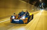 KTM X-Bow GT, Frontansicht, Tunnel