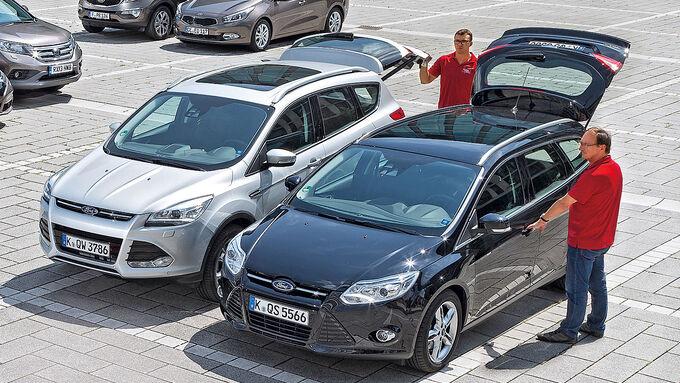 Kaufberatung Ford Focus gegen Ford Kuga